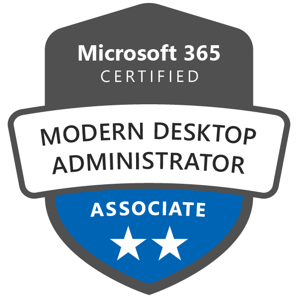 Microsoft 365 Certified Modern Desktop Administrator Associate - Official Training for Certification