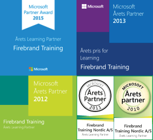 Årets Microsoft Learning Partner 2013 - Firebrand Training