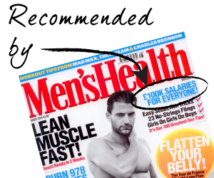Firebrand Training recommended by Men's Health